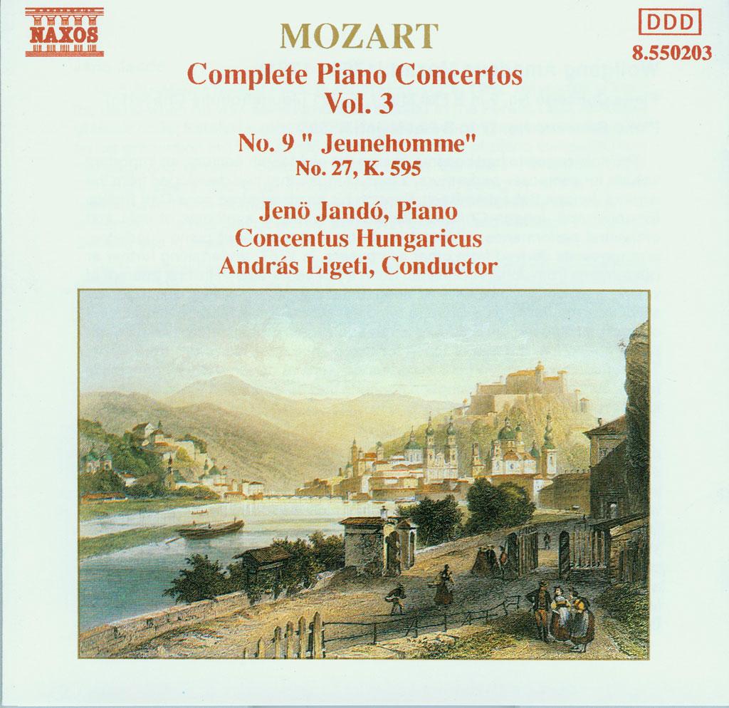 莫扎特钢琴协奏曲集 – Mozart – Piano Concertos 1991 11CD(Ape+CUE/整轨/2.38G)插图