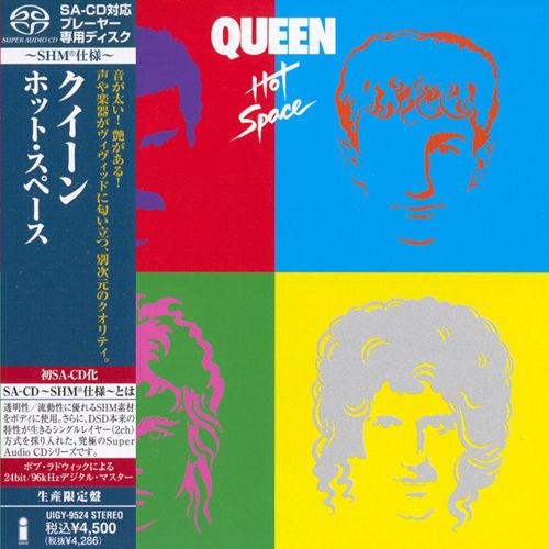 皇后乐队1982 Queen – Hot Space 2012 SHM(SACD/ISO/1.76G)插图